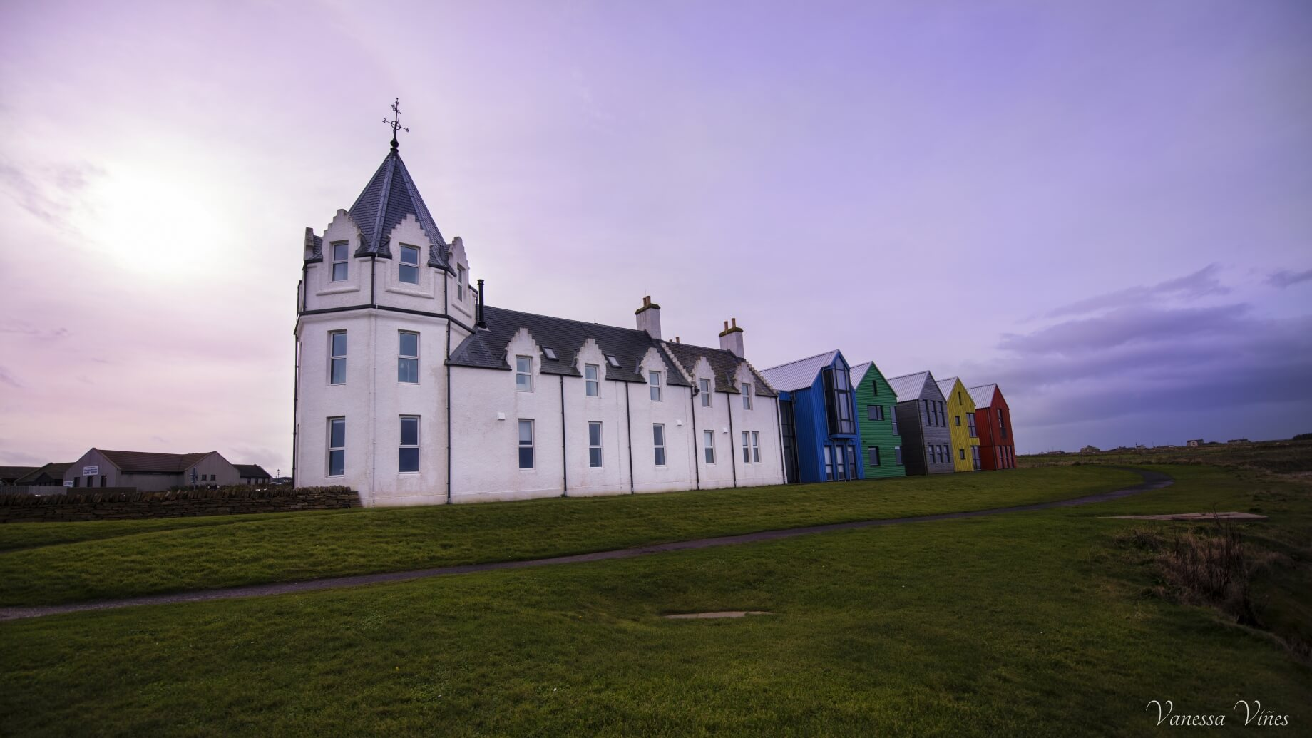 Bright colours in John O Groats