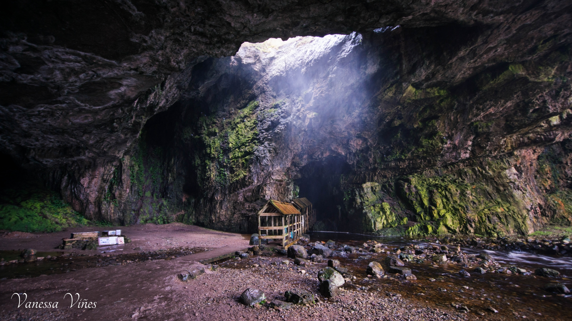Smoo Cave, first cave