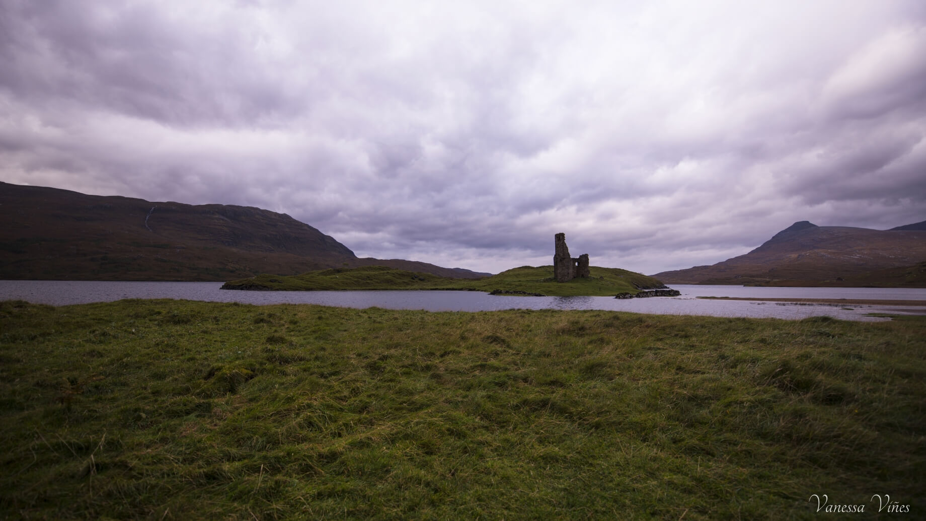 Just Ardvreck Castle