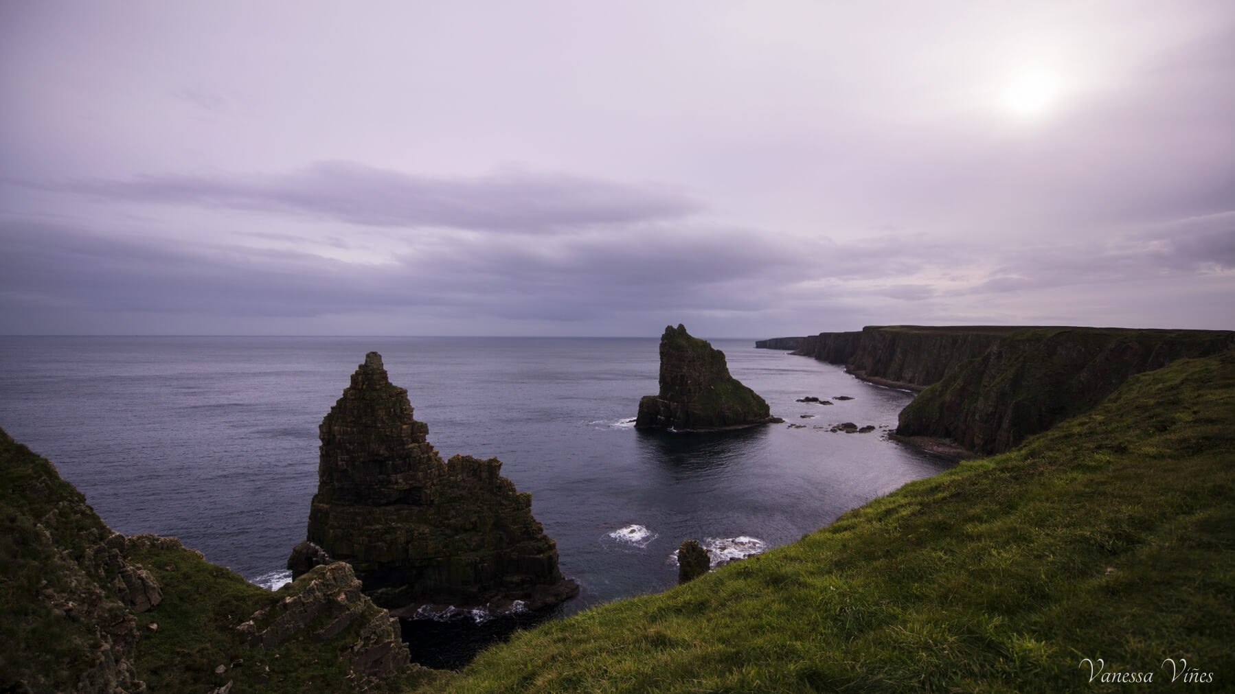 The Duncasby Stacks in John O'Groats