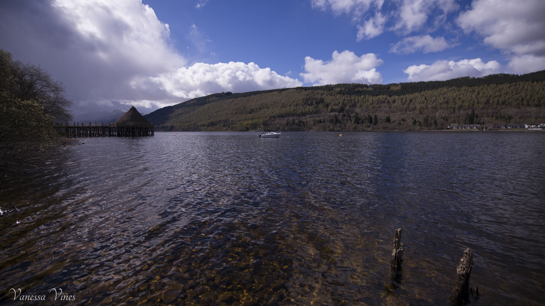 Another shot of the crannog