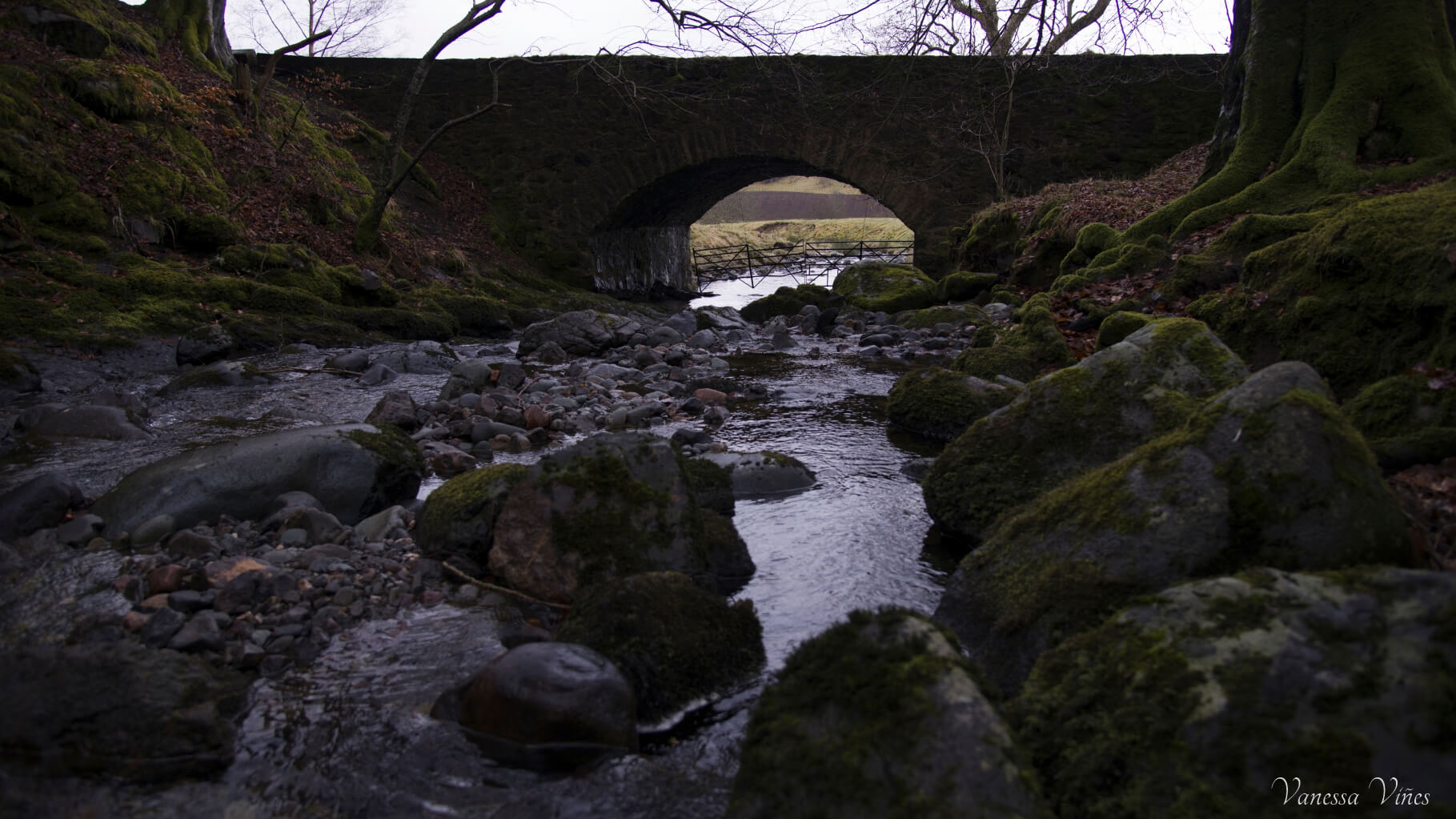 bridge in Loch Turret